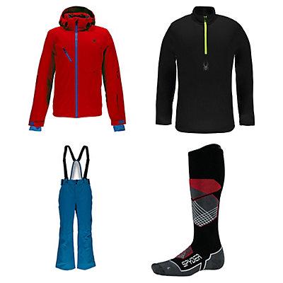 Spyder Aleyska Jacket & Spyder Bormio Pants Mens Outfit, , large