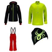 Spyder Pinnacle Jacket & Spyder Bormio Pants Mens Outfit, , medium