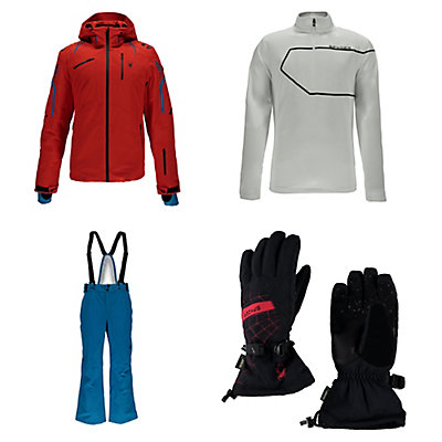 Spyder Monterossa Jacket & Spyder Bormio Pants Mens Outfit, , large