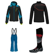 Spyder Bromont Jacket & Spyder Bormio Pants Mens Outfit, , medium