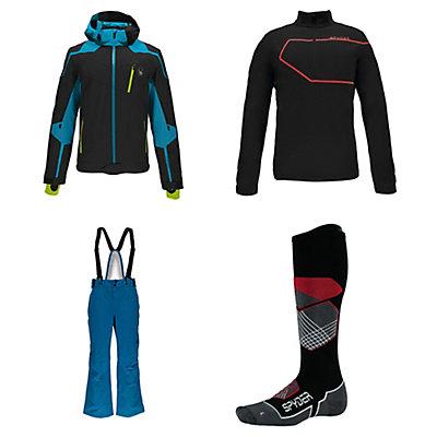 Spyder Bromont Jacket & Spyder Bormio Pants Mens Outfit, , large