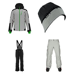 Spyder Chambers Jacket & Spyder Dare Athletic Pants Mens Outfit, , 256