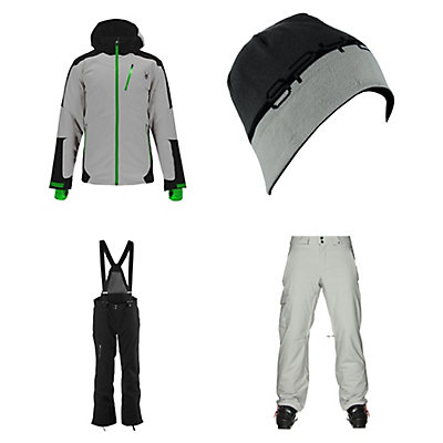 Spyder Chambers Jacket & Spyder Dare Athletic Pants Mens Outfit, , large