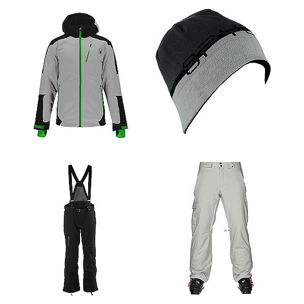Spyder Chambers Jacket & Spyder Dare Athletic Pants Mens Outfit, , 600