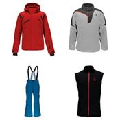 Spyder Garmisch Jacket & Spyder Bormio Pants Mens Outfit, , medium
