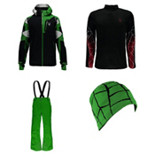 Spyder Leader Jacket & Spyder Propulsion Pants Mens Outfit, , medium