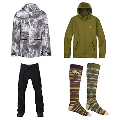 Burton Encore Jacket & Burton Southside Slim Pants Mens Outfit, , large