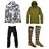 Burton Encore Jacket & Burton Southside Slim Pants Mens Outfit