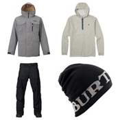 Burton Covert Jacket & Burton Covert Pants Mens Outfit, , medium