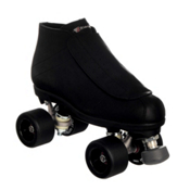 Riedell 795 Rogue Womens Derby Roller Skates, Black, medium