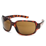 SunCloud Cookie Polarized Sunglasses, Tortoise-Brown Polarized, medium