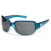 SunCloud Cookie Polarized Sunglasses, Sea Blue Laser, medium