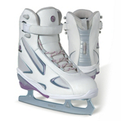 Jackson Softec Elite Womens Figure Ice Skates, White, medium
