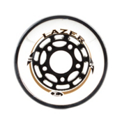 Labeda Lazer Inline Skate Wheels - 8 Pack, 82A, medium