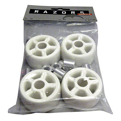 Razors Antirocker Aggressive Skate Wheels - 4 Pack, White, viewer