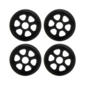 Razors Antirocker Aggressive Skate Wheels - 4 Pack 2016, Black, medium