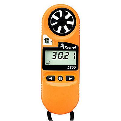 Kestrel 2500 Pocket Weather Meter, Orange, viewer