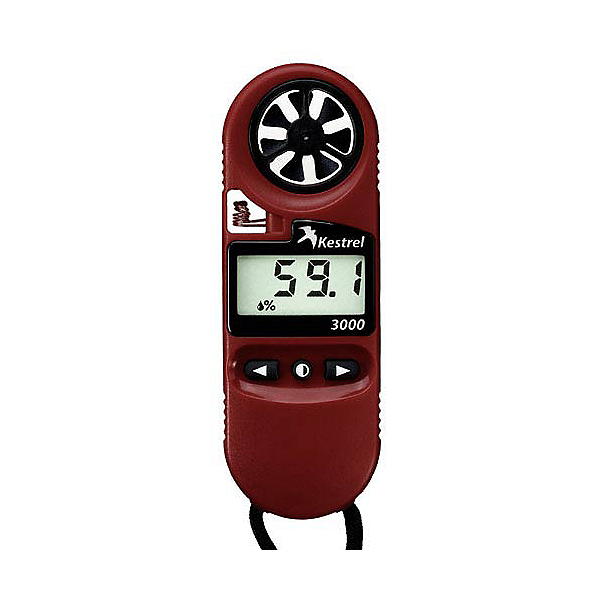 Kestrel 3000 Pocket Weather Meter, Red, 600
