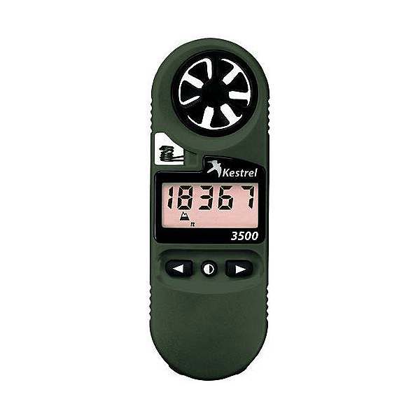 Kestrel 3500NV Pocket Weather Meter, Olive Drab, 600