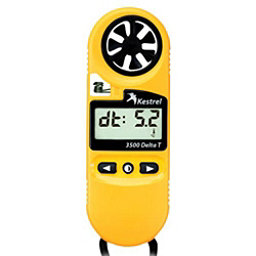 Kestrel 3500DT Pocket Weather Meter, Yellow, 256