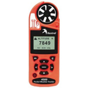 Kestrel 4000 Pocket Weather Tracker, Safety Orange, medium