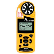 Kestrel 4500 Pocket Weather Tracker, Yellow, medium