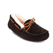 UGG Australia Dakota Womens Slippers, Black, medium