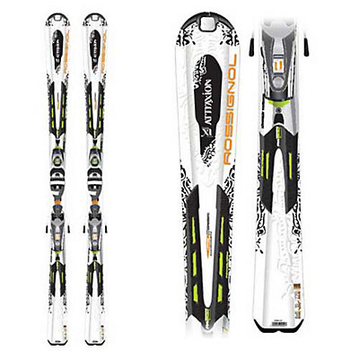 Rossignol Attraxion XI Mutix Womens Skis with Saphir 120 TPI Bindings, , large
