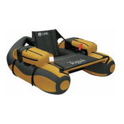 Classic Accessories The Togiak Pontoon Float Tube, Gold-Black, medium