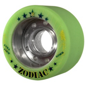 Radar Zodiac Roller Skate Wheels - 4 Pack 2014, Green, medium