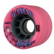 Radar Tuner Roller Skate Wheels - 4 Pack, Pink, medium
