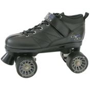 Pacer GTX-500 Speed Roller Skates, Black, medium