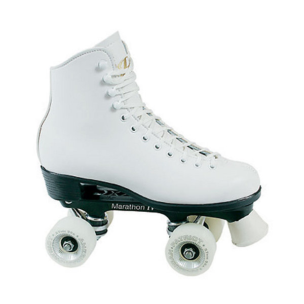 Dominion Patriot Womens Artistic Roller Skates, White, 600