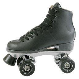 Pacer Super X Plus Boys Artistic Roller Skates, Black, 256