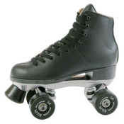 Pacer Super X Plus Artistic Roller Skates, Black, medium