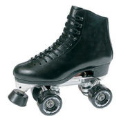 RC 73 Competitor Motion Boys Artistic Roller Skates, Black, medium