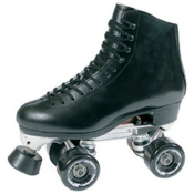 RC 73 Competitor Motion Artistic Roller Skates, Black, medium
