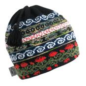 Turtle Fur Lady Fairisle Hat, Sage, medium