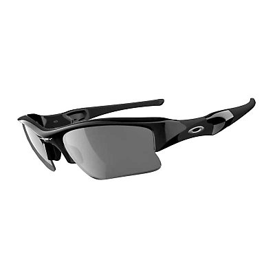 Oakley Polarized Flak Jacket XLJ Sunglasses, , large