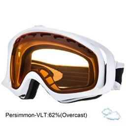 Oakley Crowbar Goggles, Matte White-Persimmon, 256