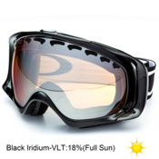 Oakley Crowbar Goggles 2014, Jet Black-Black Iridium, medium