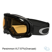 Oakley Crowbar Goggles 2016, Jet Black-Persimmon, medium