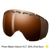 Oakley Crowbar Goggle Replacement Lens, Prizm Black Iridium, medium