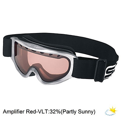 Scott Jr Tracer Kids Goggles, Silver W-Amp Lens, viewer