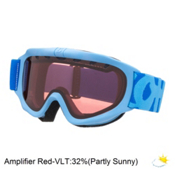 Scott Jr Tracer Kids Goggles, Powder Blue W-Amp Lens, medium