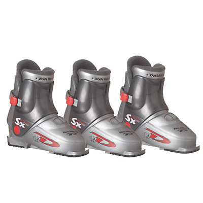 Used Youth Rear Entry Ski Boots, , large