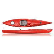 Perception Tribute 12.0 Kayak Recreational Kayak 2013, Red, medium