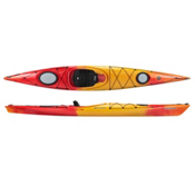 Perception Tribute 12.0 Kayak Recreational Kayak 2013, Red-Yellow, medium