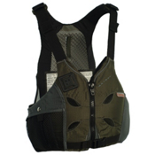 Astral V-Eight Adult Kayak Life Jacket, Olive, medium
