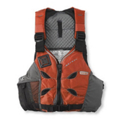 Astral V-Eight Adult Kayak Life Jacket, Orange, medium